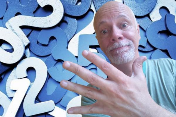 Você consegue contar até cinco?